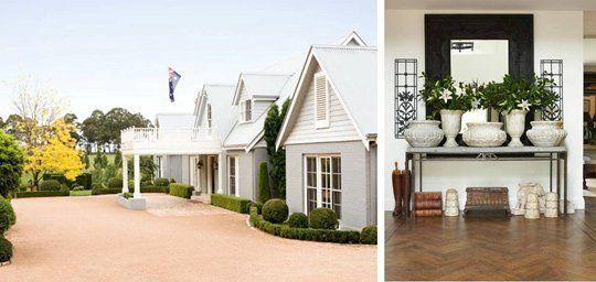Hampton style houses melbourne