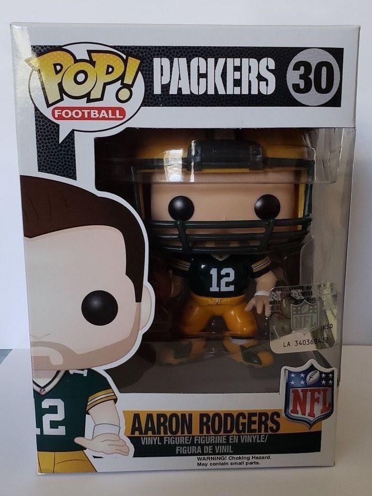 FUNKO POP! NFL Green Bay Packers Aaron Rodgers 30 Funko