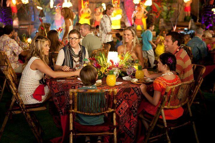 Jennifer Aniston, Bailee Madison, Brooklyn Decker, Griffin Gluck, Nick Swardson & Adam Sandler