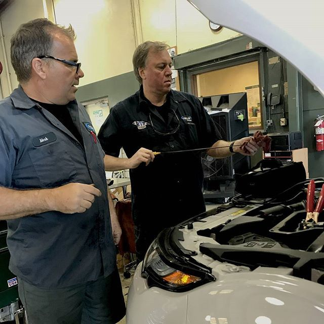 Land Rover Northfield >> Our GM Jim Moyer and our Certified Technicians (Team Member Michael shown) will make sure your ...