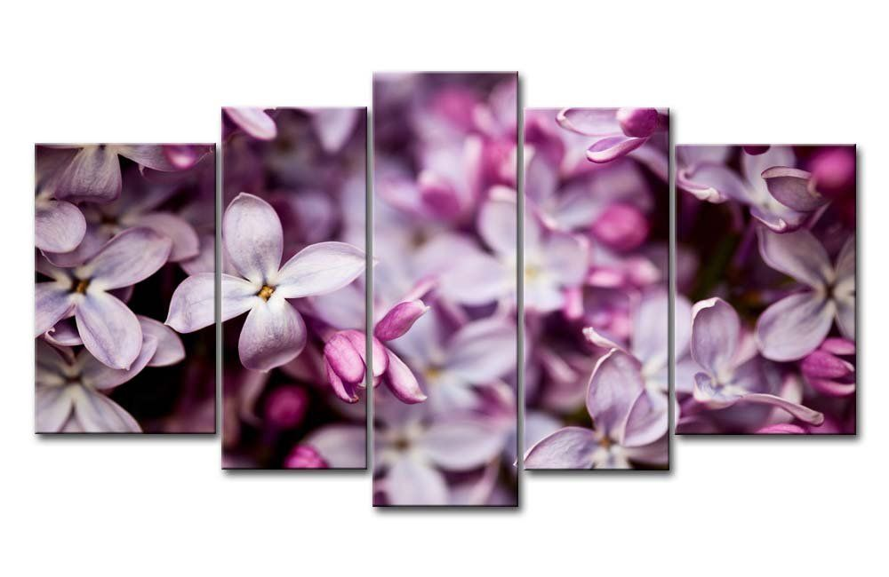 So Crazy Art Canvas Print Wall Art Painting For Home Decor Lilac Crowd 5