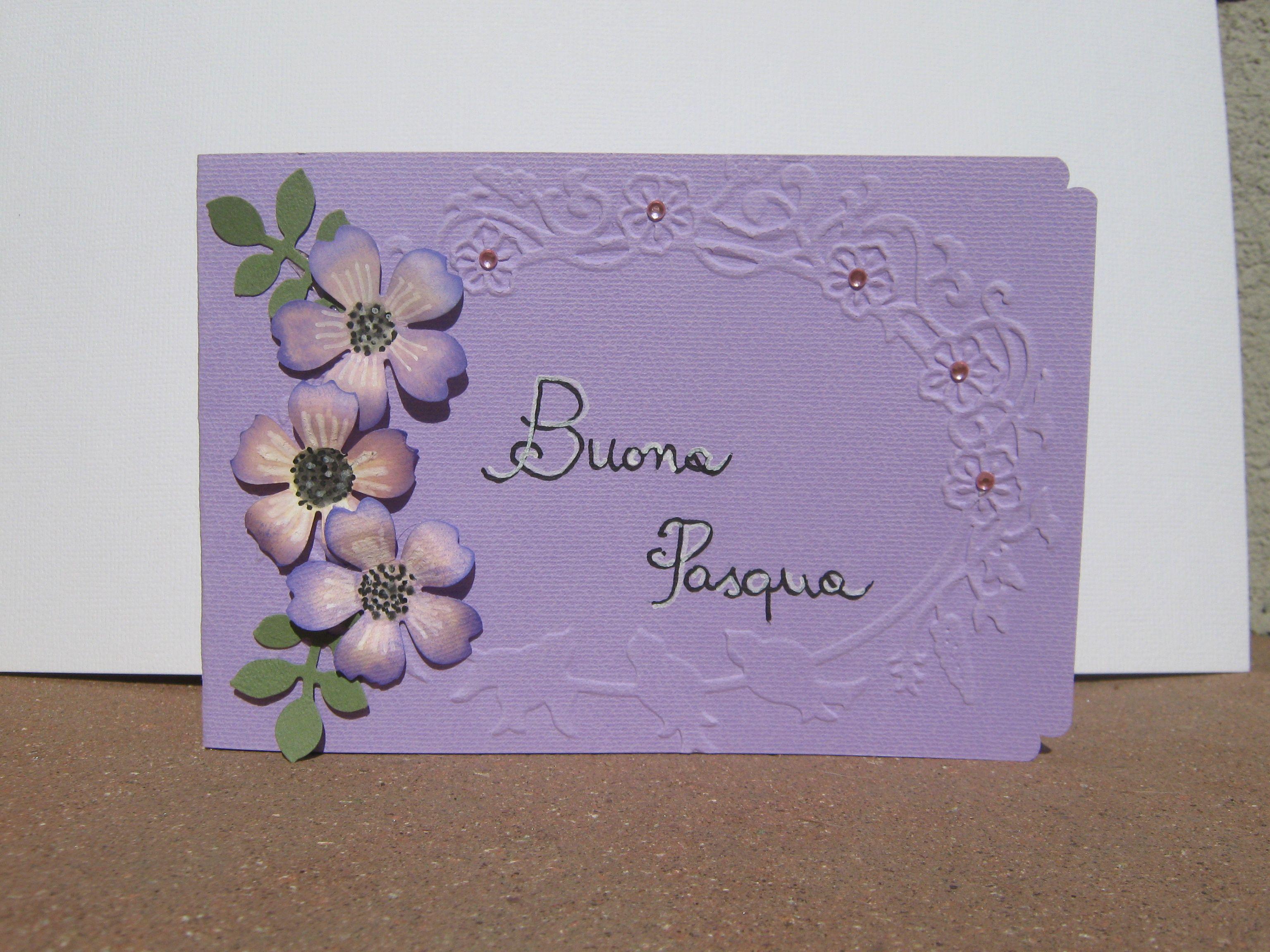 """Card """" Auguri di Pasqua"""""""
