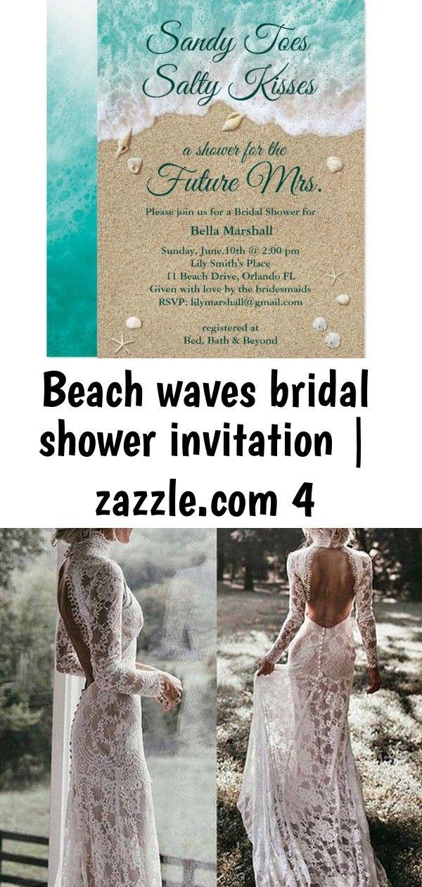 Beach waves bridal shower invitation  4 Beach Waves Bridal Shower Invitation gorgeous Hall of Greenery Greenery Floral Arches Chandelier Wedding Decor Garden Wedding Insp...