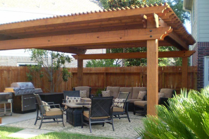 western red cedar pergola by Lawn Master Outdoor Living | Real ...