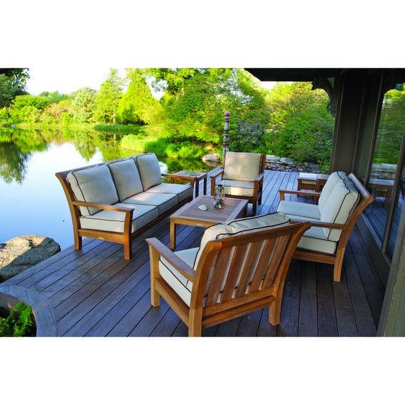 Kingsley Bate Elegant Outdoor Furniture Chelsea Deep Seating Group