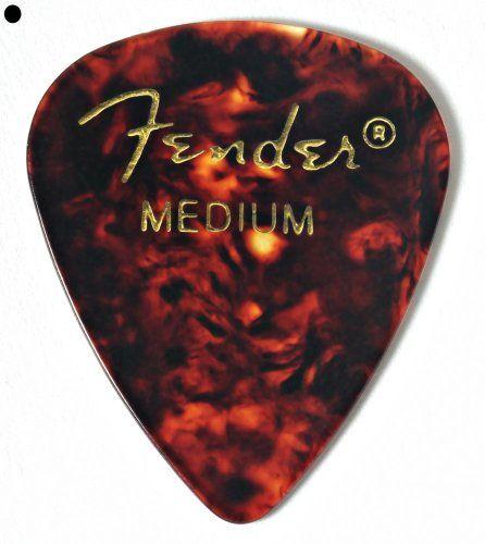 Fender 351 Shape Classic Thin Celluloid Picks 12 Pack