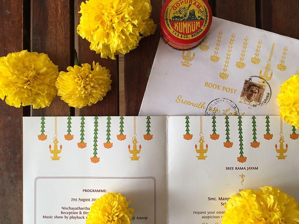 illustrated wedding invitations cute indian wedding invitations