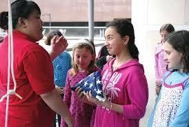 Girl Scout Day at National Constitution Center Philadelphia, PA #Kids #Events