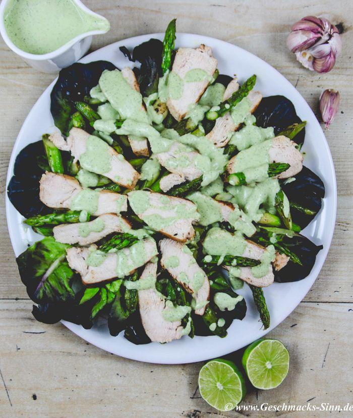 Hähnchen-Carpaccio mit Salsa Verde