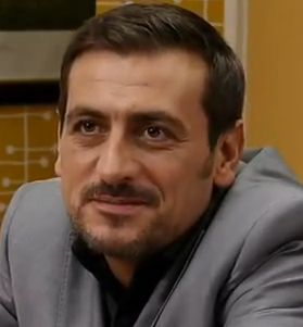 Peter Barlow played by Chris. Gascoyne. Peter's partner is Carla. At present having an affair with Tina.