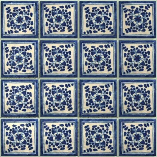 LeMog - 3dTextures - Carrelage Azuleros Bleus 2 - Tiles/354 amazia