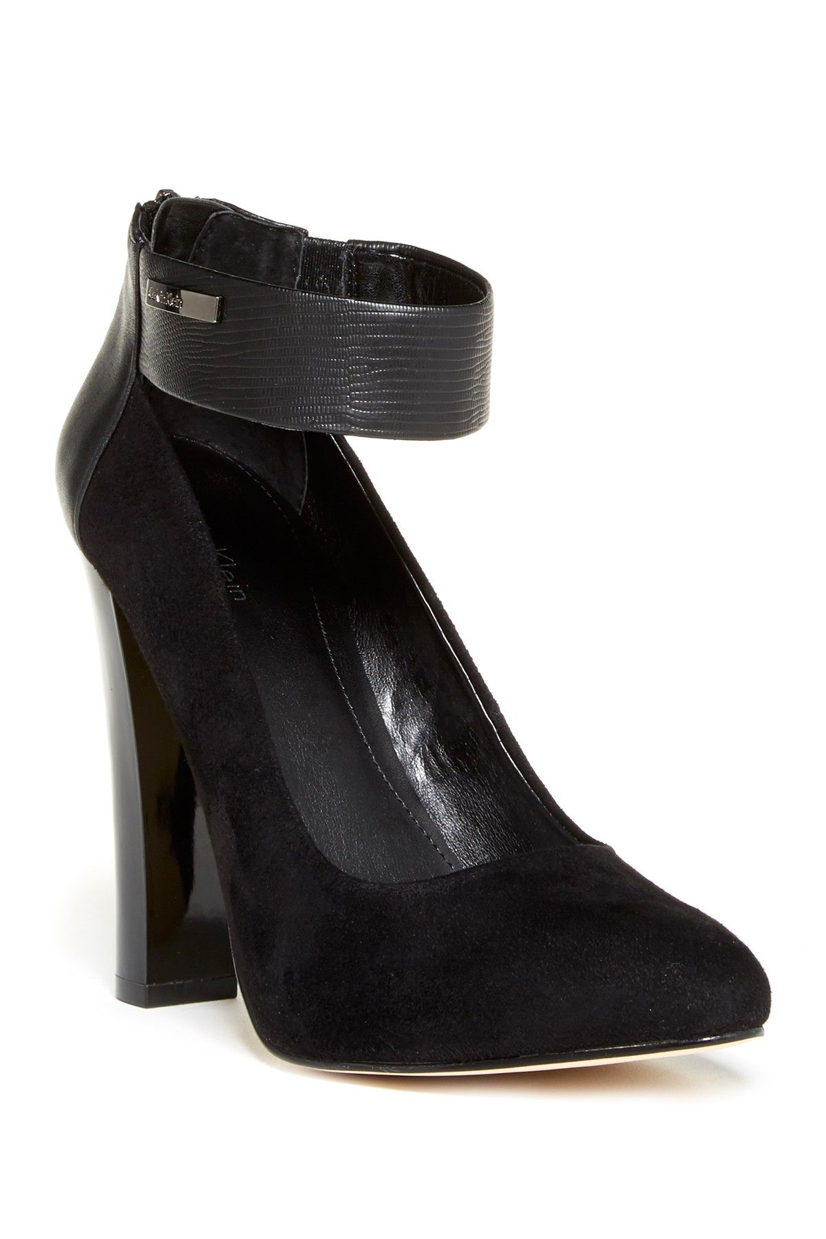 e2b7fb6cd6aef Calvin Klein Ankle Strap Pump Hautelook Buy Shoes