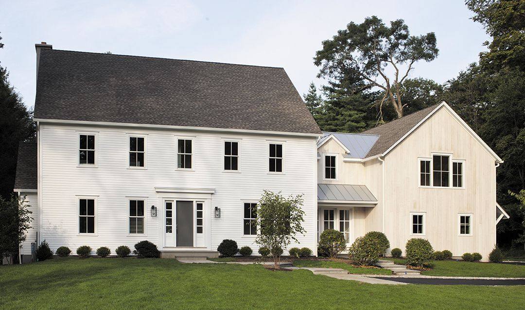Connecticut Realtors Tell Us What Style Home Buyers Want Most Cottages Gardens Colonial House Exteriors Colonial Exterior Colonial House Plans