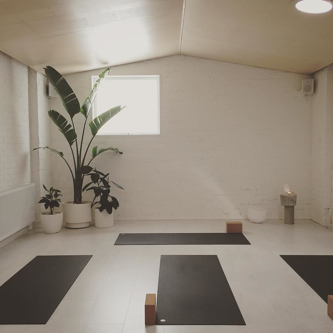 I am absolutely loving doing yoga at this new studio I love trying