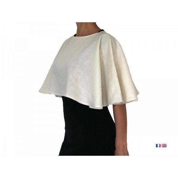 Patron de couture - Cape voile pour femme | Couture | Pinterest ...