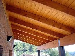 19 Techos de lamina y madera