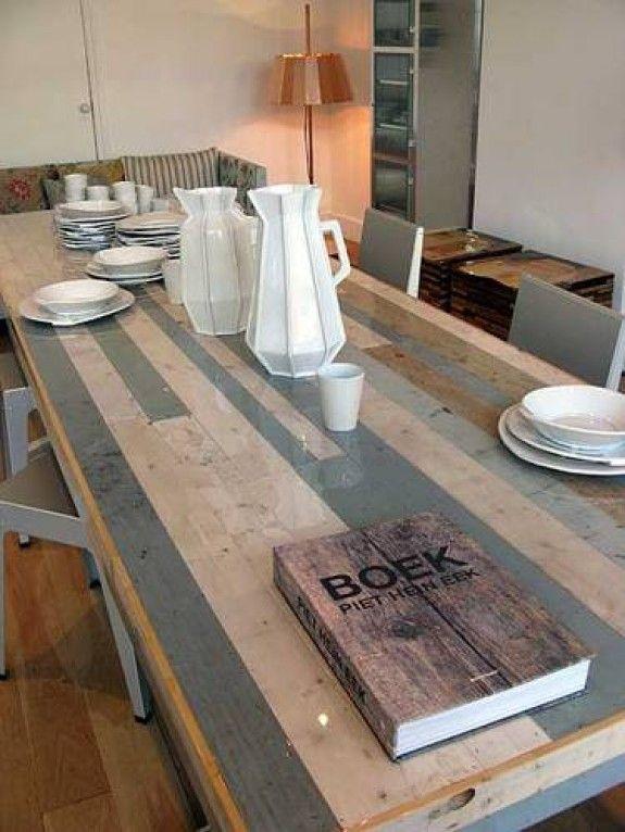 Piet Hein Eek kitchen table idea