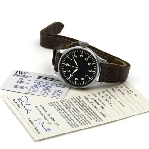 WW2 era IWC Pilot's watch. Only 50 grand. Hopefully mine will be worth this much in 70 years. #IWC #watch #vintage