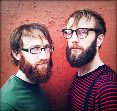 hipster duo