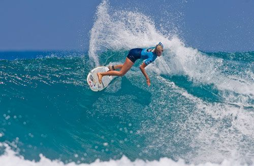 Bethany Hamilton-an amazing surfer, amazing faith!