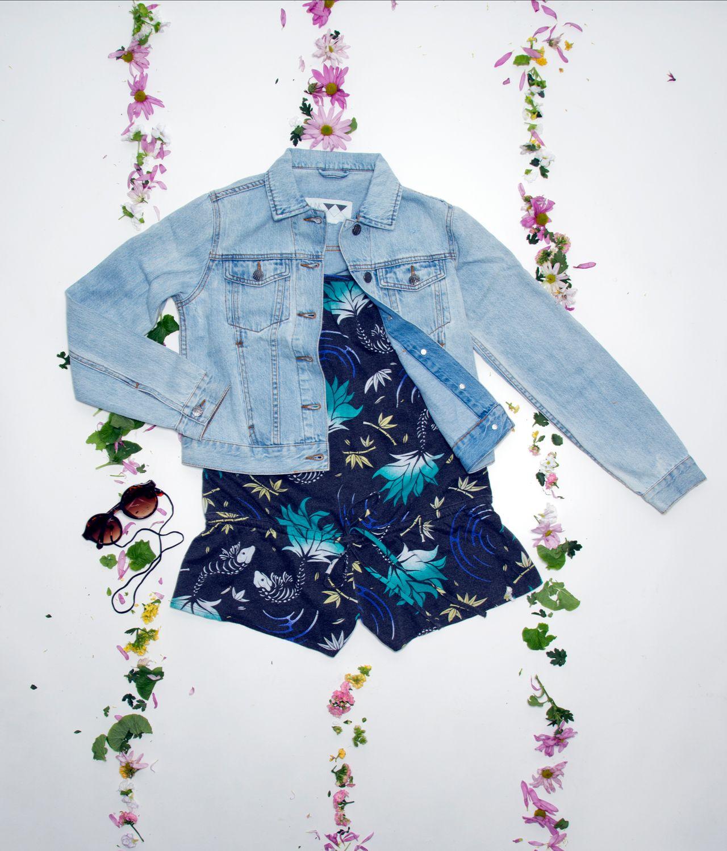 #outfit #junkyardxxxy #junkyard #denimjacket #flowers #55dsl
