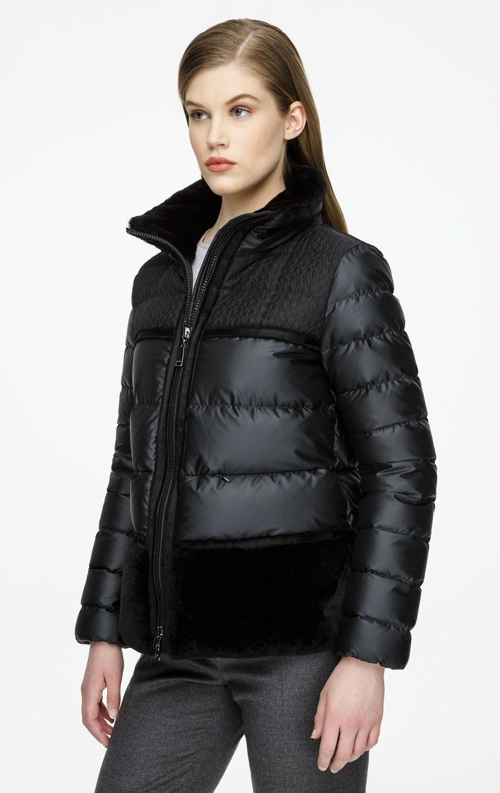 eed94009c609 Fur-Trimmed Down Jacket