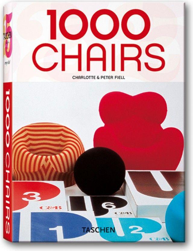1000 Chairs. TASCHEN Books (Klotz, TASCHEN 25 Edition ...