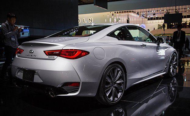 2020 Infiniti Q60 Review Pricing And Specs Detroit Auto Show Car Driver Car