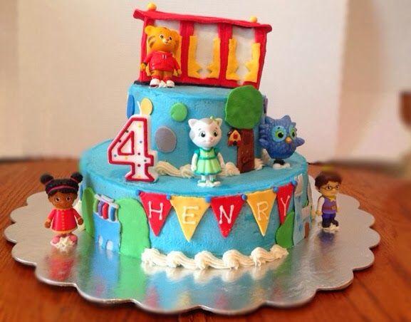 Daniel Tiger Birthday Cake Youtube