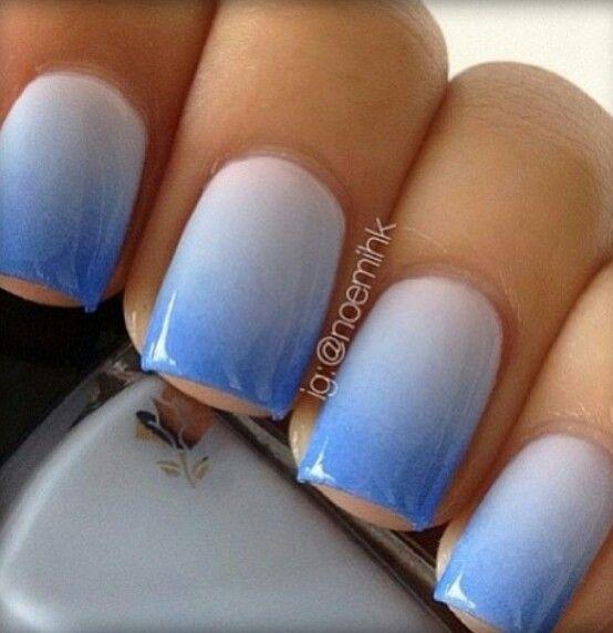 Blue hombre nails   Beauty   Pinterest   Cuidado personal, Diseños ...