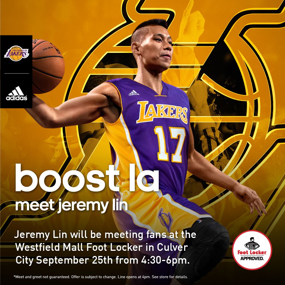 Foot locker adidas host la lakers jeremy lin meet greet foot locker adidas host la lakers jeremy lin meet greet m4hsunfo