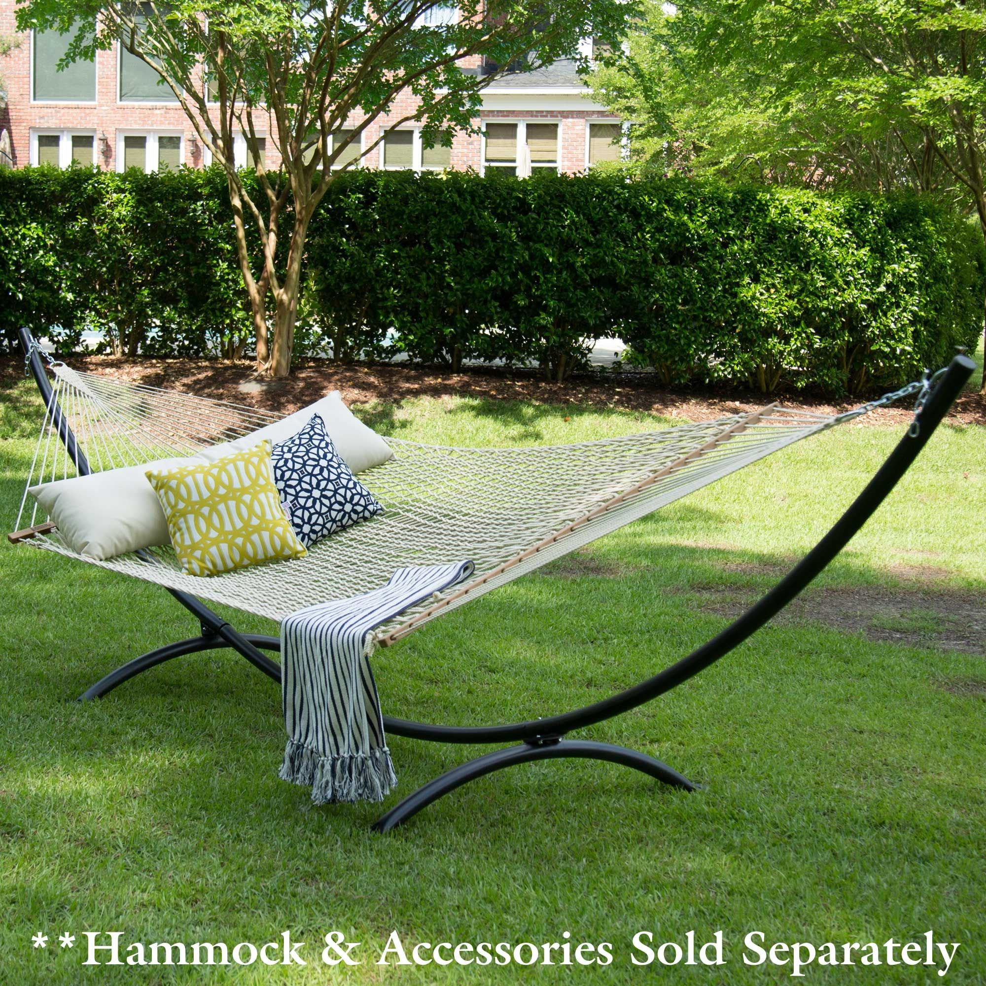 hammock collapsible for upscale patios amazon bliss stand teal hbhsko vivere sightly steel stands hammocks ga wooden awesome with