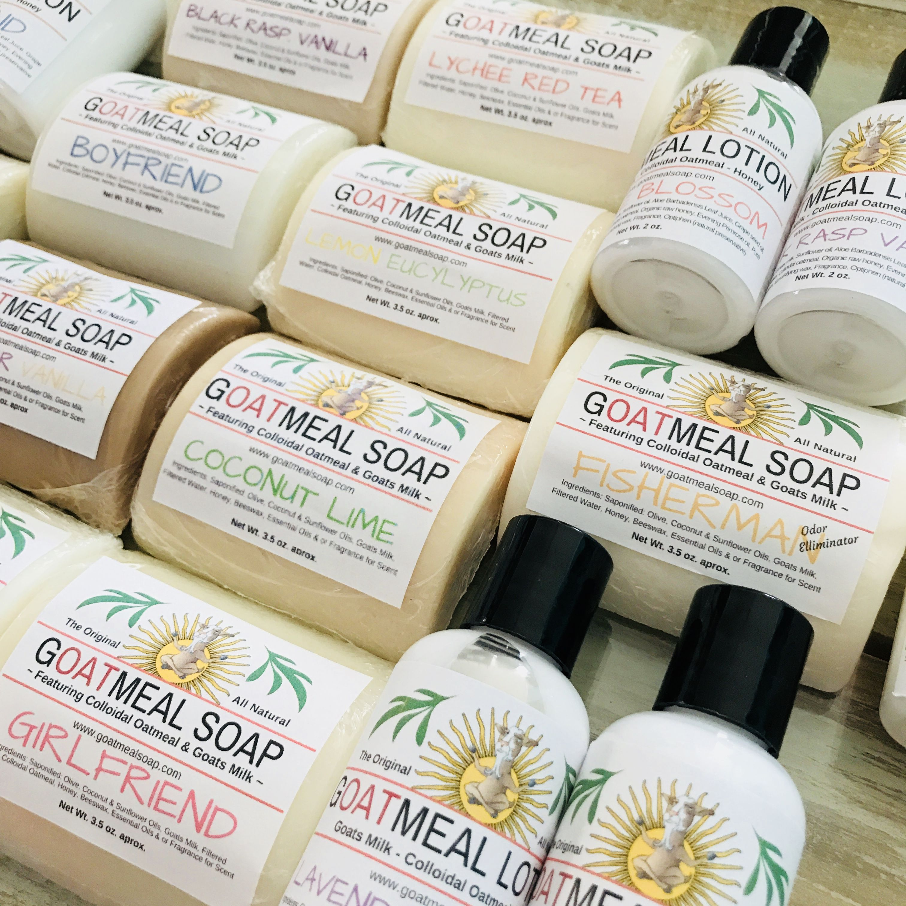 Goat Milk & Colloidal Oatmeal Nature Inspired soap