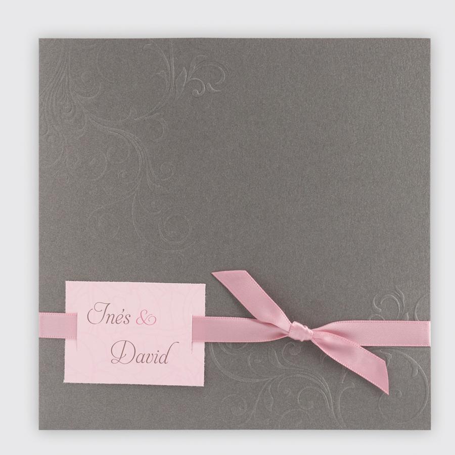 Moderne Hochzeitseinladungen Altrosa Wedding Weddingcards