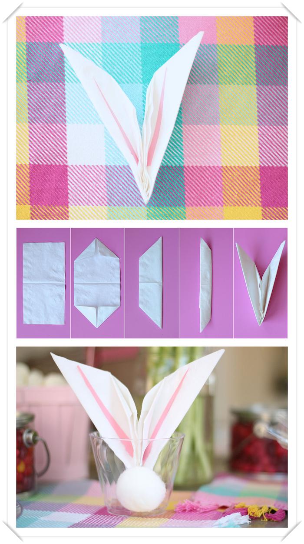 Serviettes En Papier Originales ▷ 1001 + tutoriels et modèles de pliage de serviette en