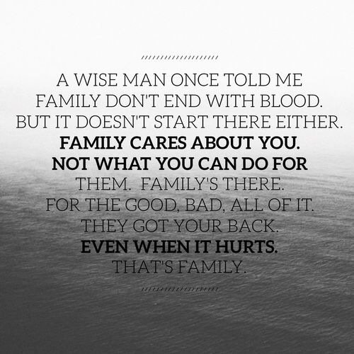 Image Result For Family Dont End In Blood But It Doesnt Start