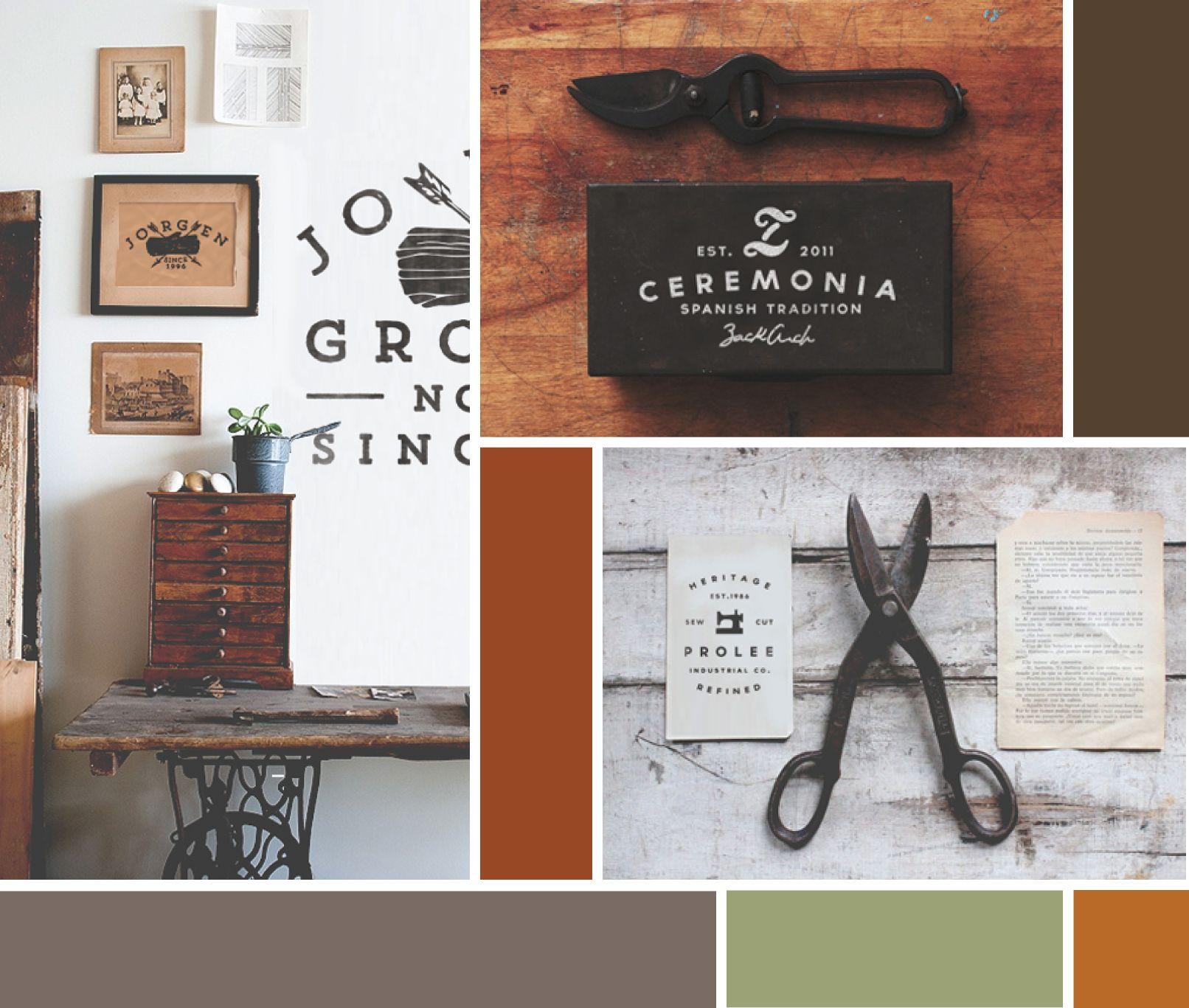 quick #moodboard : masculine design and autumn huesinspiration