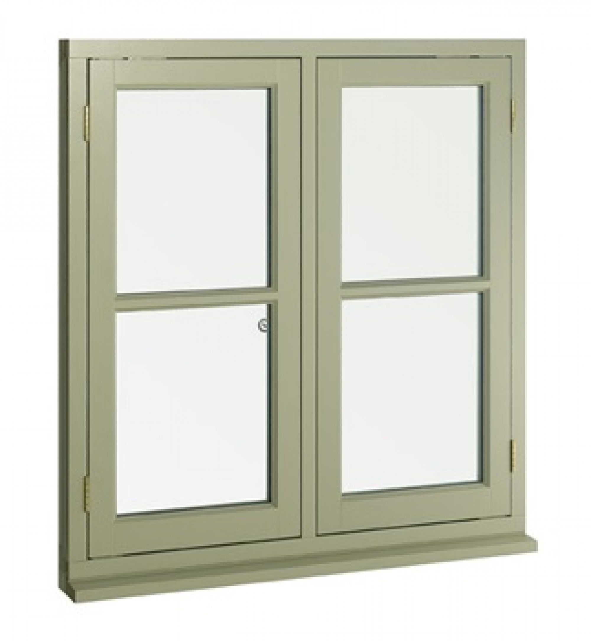 Conventional traditional flush casement windows new for Double casement windows