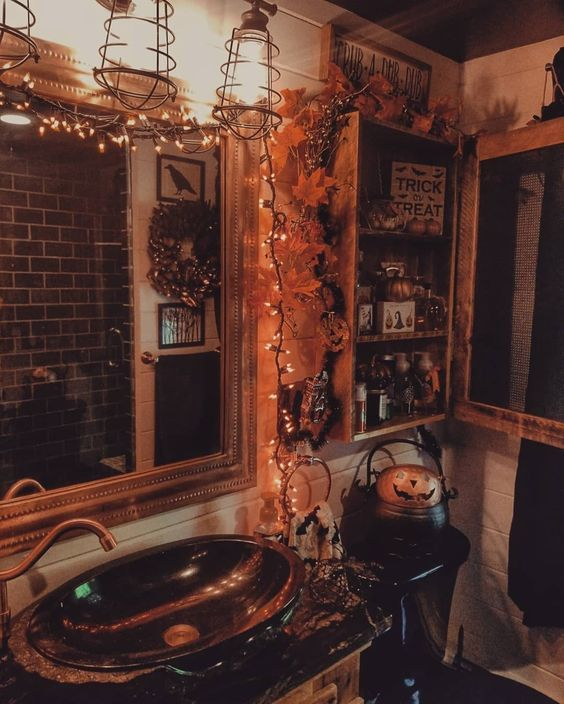 90+ DIY Indoor Halloween Decor Ideas to Welcome Spooky Vibes in your Home - Hike n Dip