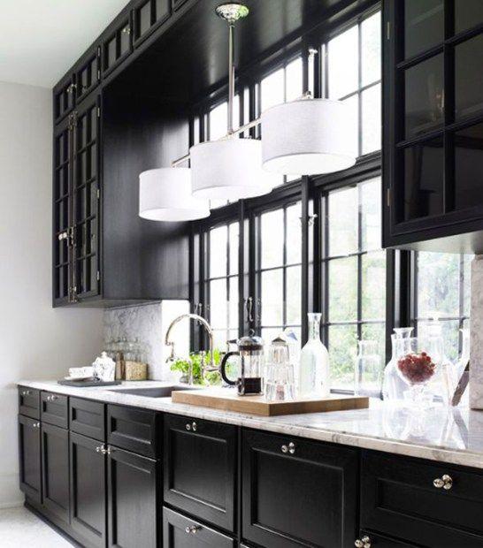Sarah Baynes Interiors Interior Designer Sarasota Florida Black Kitchen Cabinets Kitchen Interior Kitchen Trends