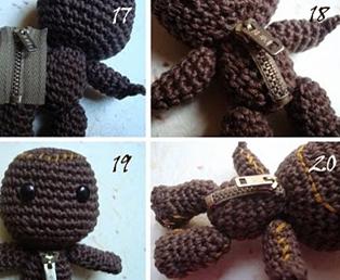 Geek Amigurumi Pattern : Cursed mr drippy amigurumi u geek crafts