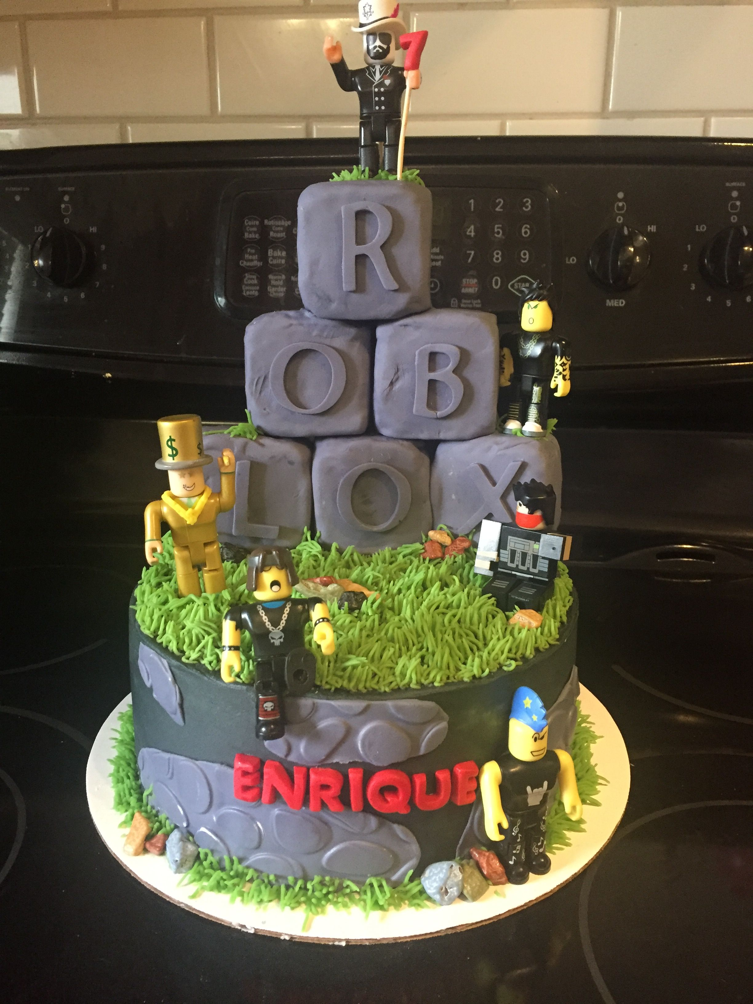 Roblox Cake For Boy Roblox Cake Roblox Birthday Cake Roblox Cake Birthday Party Cake