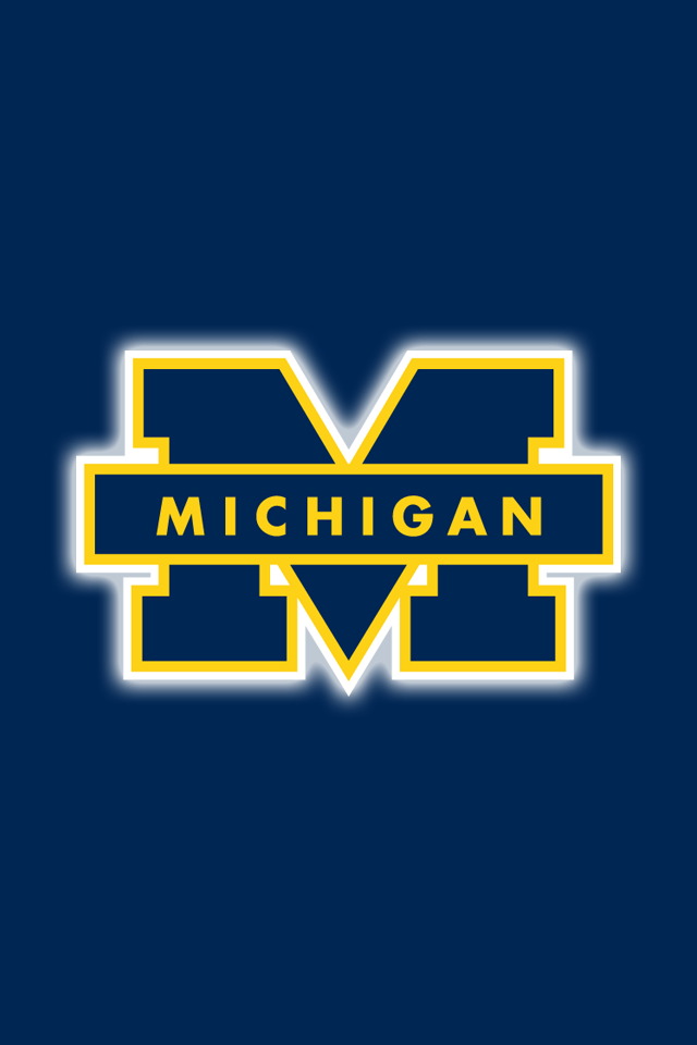 Free Michigan Wolverines Iphone Wallpapers Install In Seconds 15 To Choose F University Of Michigan Logo University Of Michigan Wolverines Michigan Football
