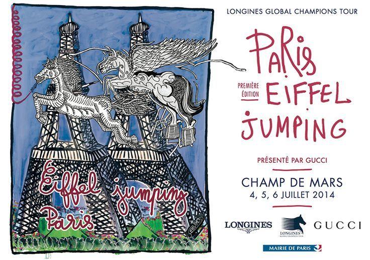 Equitation saut d'obstacles, Global Champions Tour. Du 4 au 6 juillet 2014 ...,  #champio...
