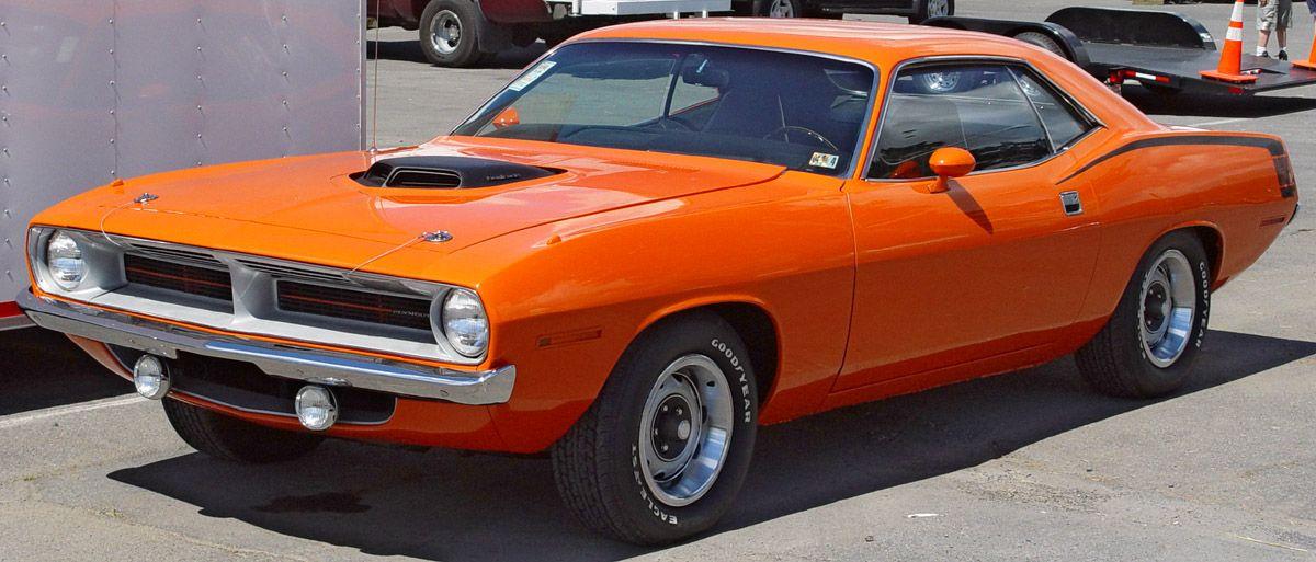 Toda una maquina 1971 Plymouth Hemi Cuda  Shannon  Motores