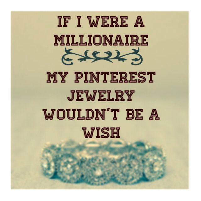 If I were a millionaire