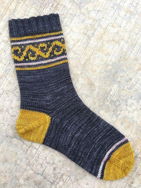 Photo of Laguna Socks pattern by Debby Reece – Ruth Anne Davidson – Ich Folge