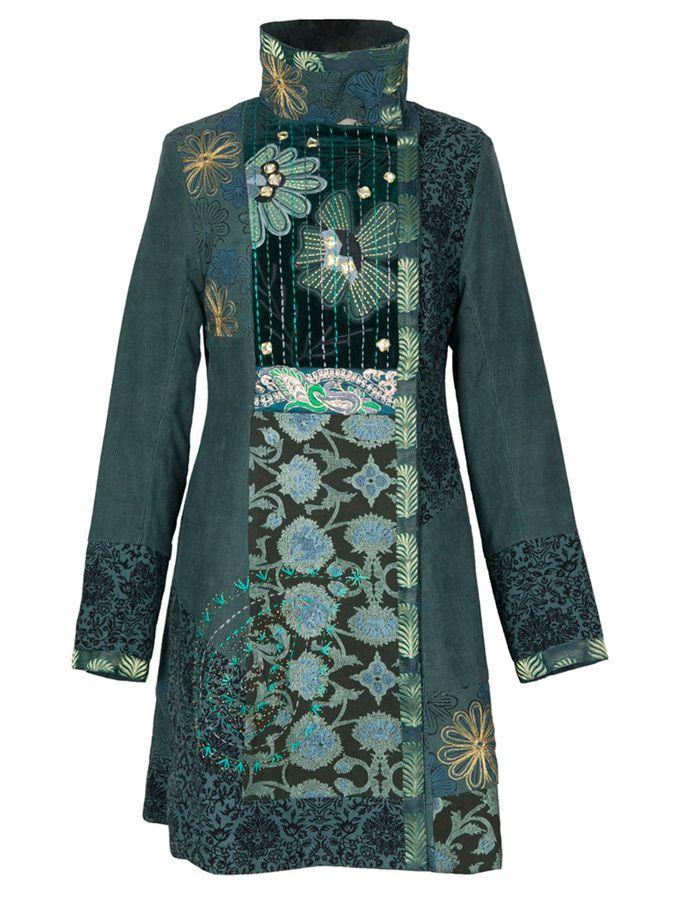 Designer Kutch Jacket - Gujarati Kutch handmade embroidered jacket- Indian embroidered  jackets coat