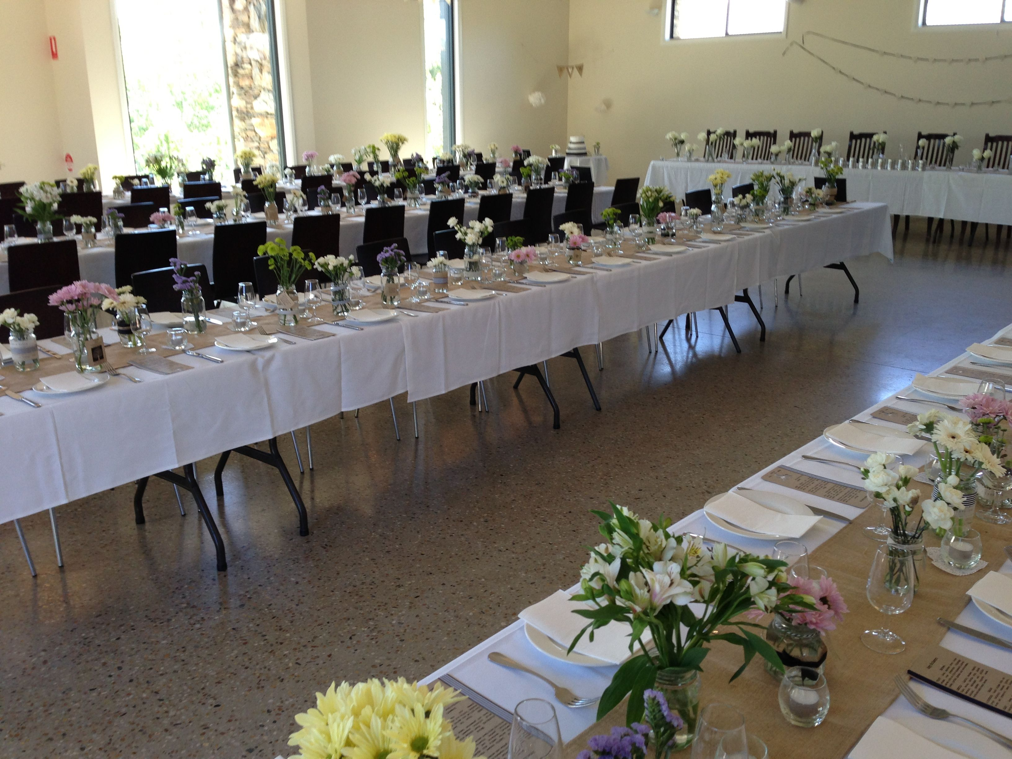 Beer hall set up Wedding reception at Grazing in #canberra ...