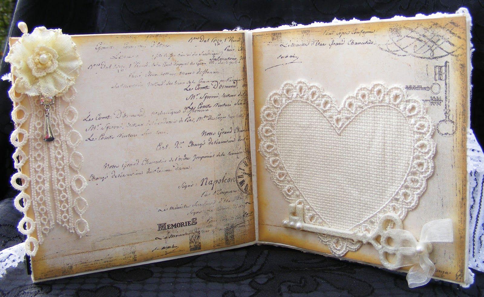 Свадебная открытка внутри
